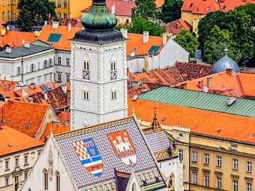 St. Mark's Church in Zagreb (Croatia)