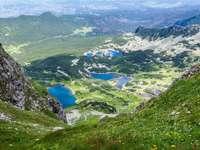 View of Hala Gąsienicowa in Tatra Mountains (Poland)