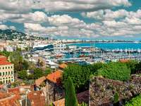 Port in Cannes (France)