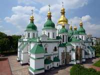 Saint Sophia's Cathedral i Kiev (Ukraina)