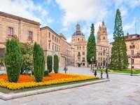 Casco antiguo de Salamanca (España)