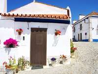 Street in the town of Terena (Portugal)