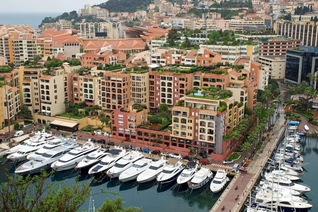 Port in Fontvieille (Monaco)