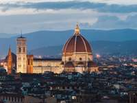 Cathedral in Florence (Italy)