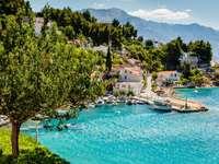 Picturesque village near Split (Croatia)