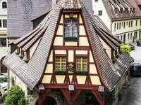 Oude smederij in Rothenburg ob der Tauber (Duitsland)