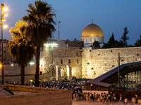 Muro de las Lamentaciones en Jerusalén (Israel)