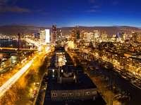 Panorama of Rotterdam (Netherlands)
