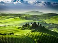 Val d'Orcia-Tal (Italien)