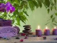 Pietre di massaggio nella spa