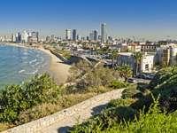 View of Tel Aviv coastline (Israel)