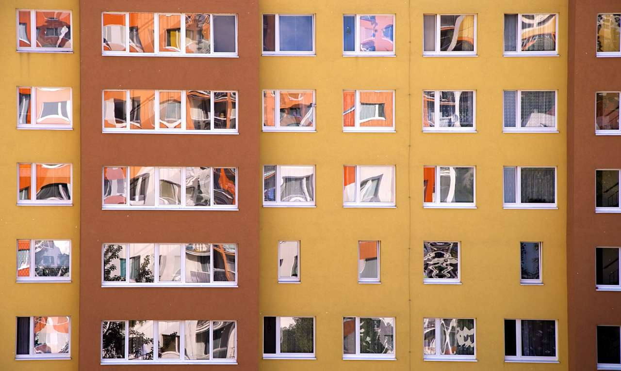 Windows of flats in the block of flats - The window is a structural element of residential buildings, thanks to which we can ventilate rooms, as well as provide some daylight. Rows of identical windows are characteristic especially for multi (16×10)