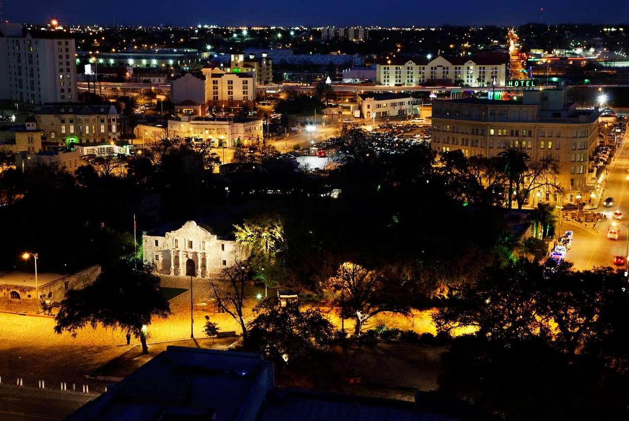 San Antonio de nuit (USA)