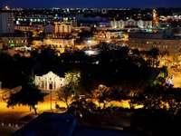 San Antonio at night (USA)