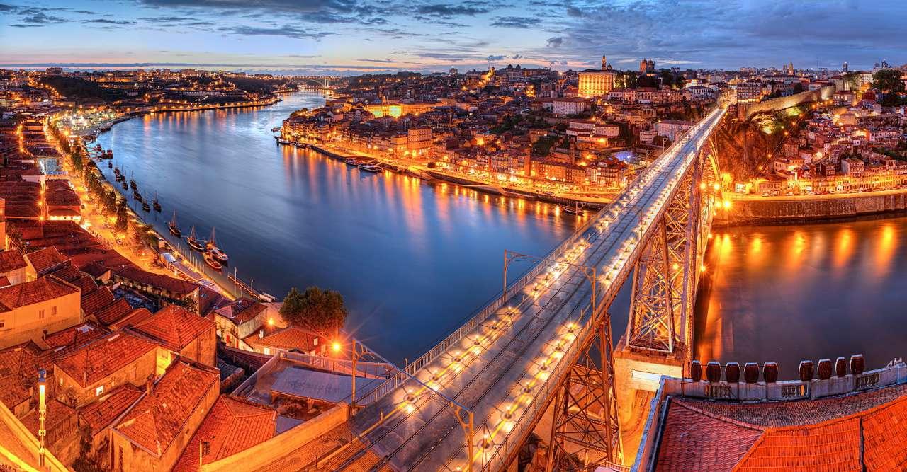 Dom Luís I-brug in Porto (Portugal)