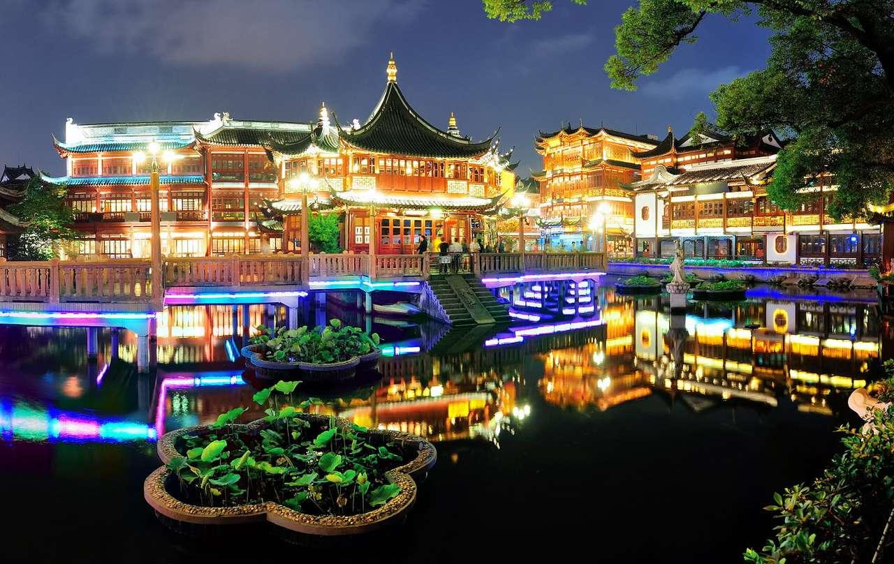 Yuyuan kert Sanghajban (Kína)