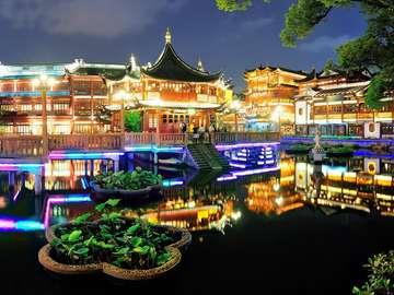 Yuyuan Garden in Shanghai (China)