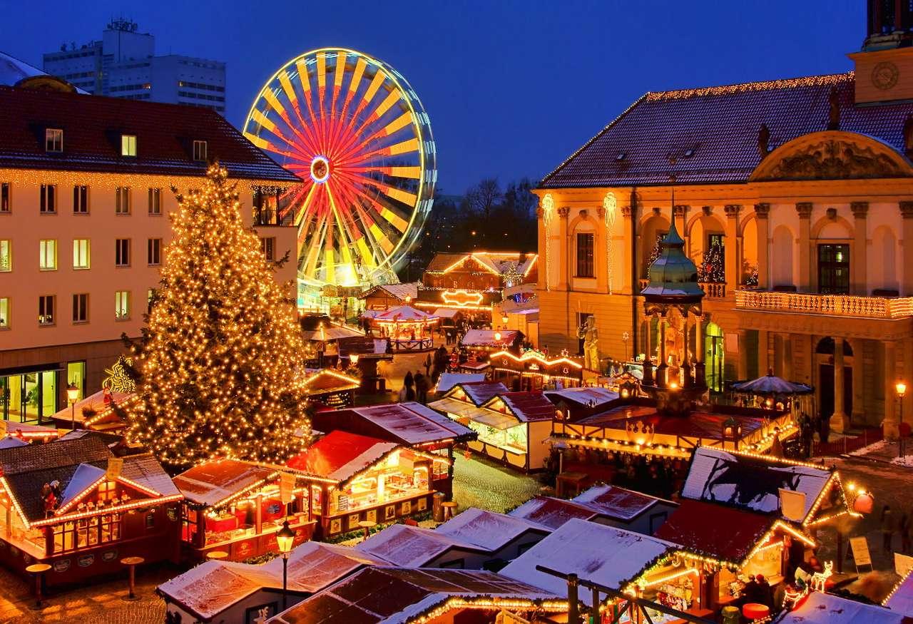 Feria de Navidad en Magdeburgo (Alemania)