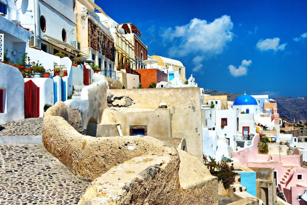 Arquitectura de Santorini (Grecia)