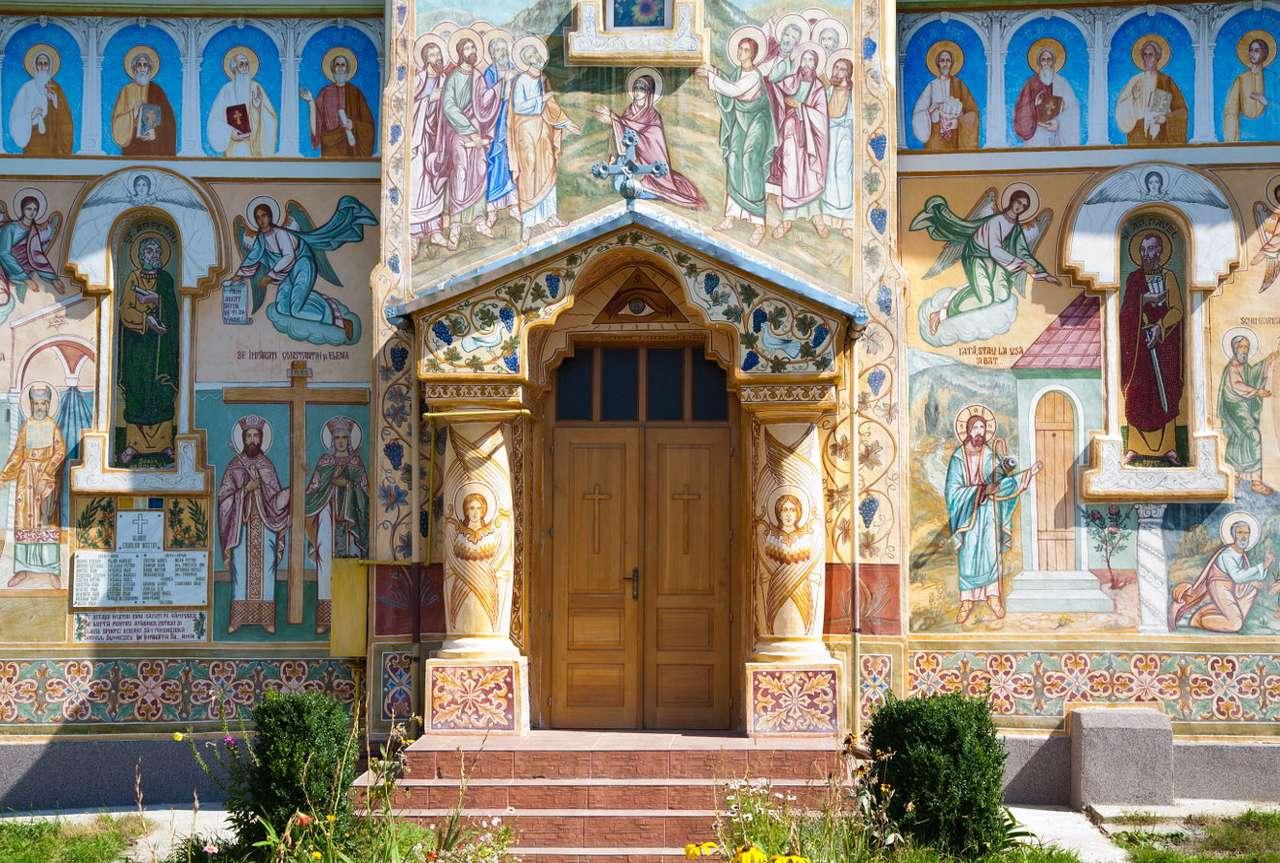Orthodoxe kerk in de provincie Hunedoara (Roemenië)