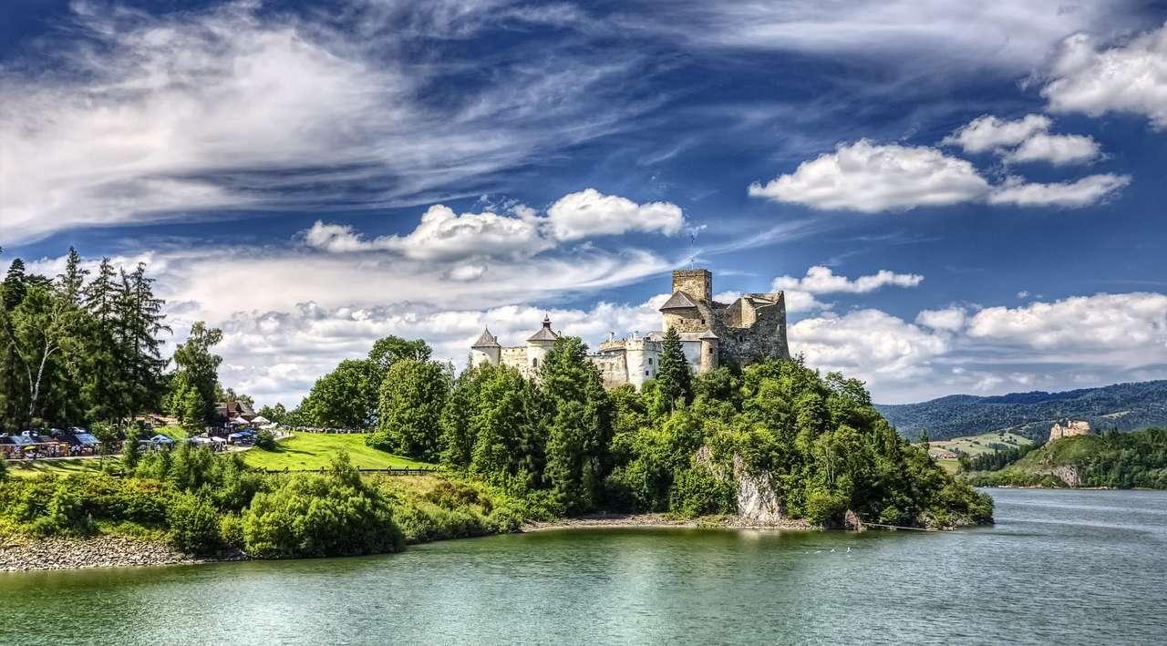Замъкът Дунаец в Нидзица (Полша)