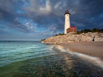 Crisp Point Light (USA)