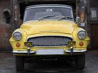 Yellow Škoda Felicia type 994