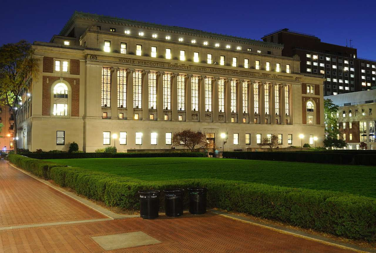 Butler Library in New York (USA)