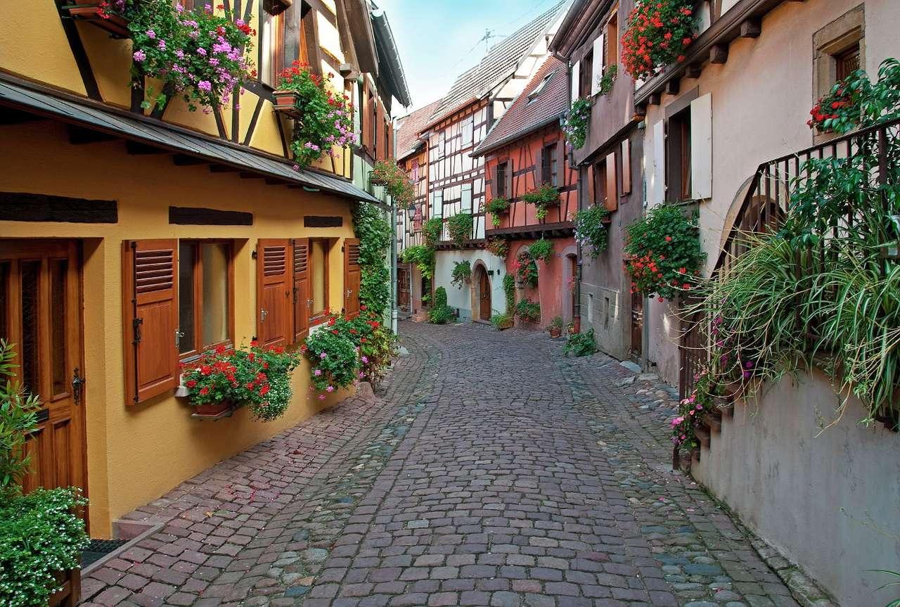 Град Гебвилер в Елзас (Франция)
