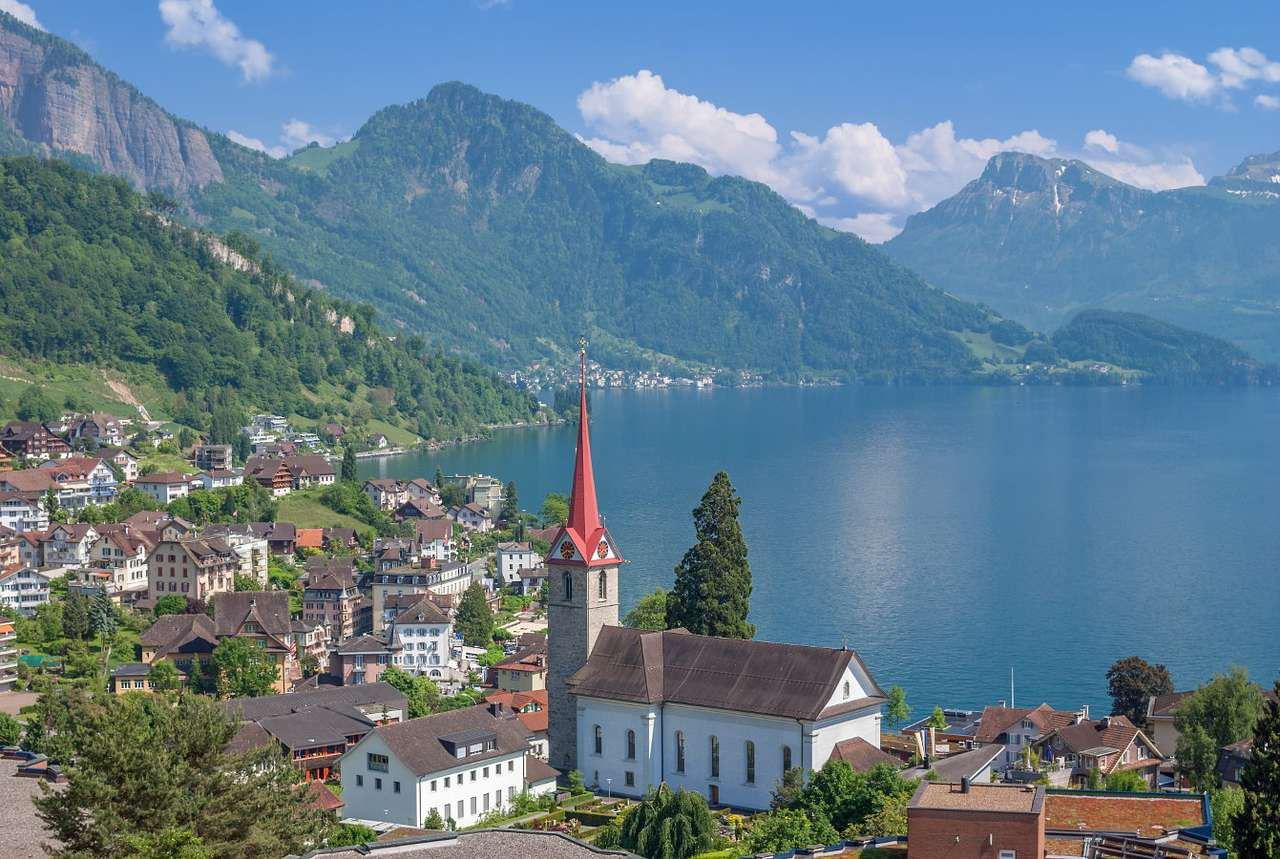 Lago de Lucerna (Suiza)