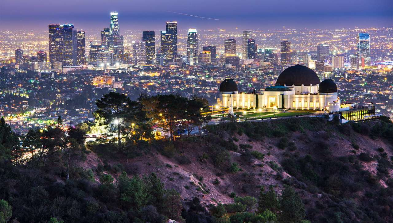 Griffith Observatory in Los Angeles (USA)