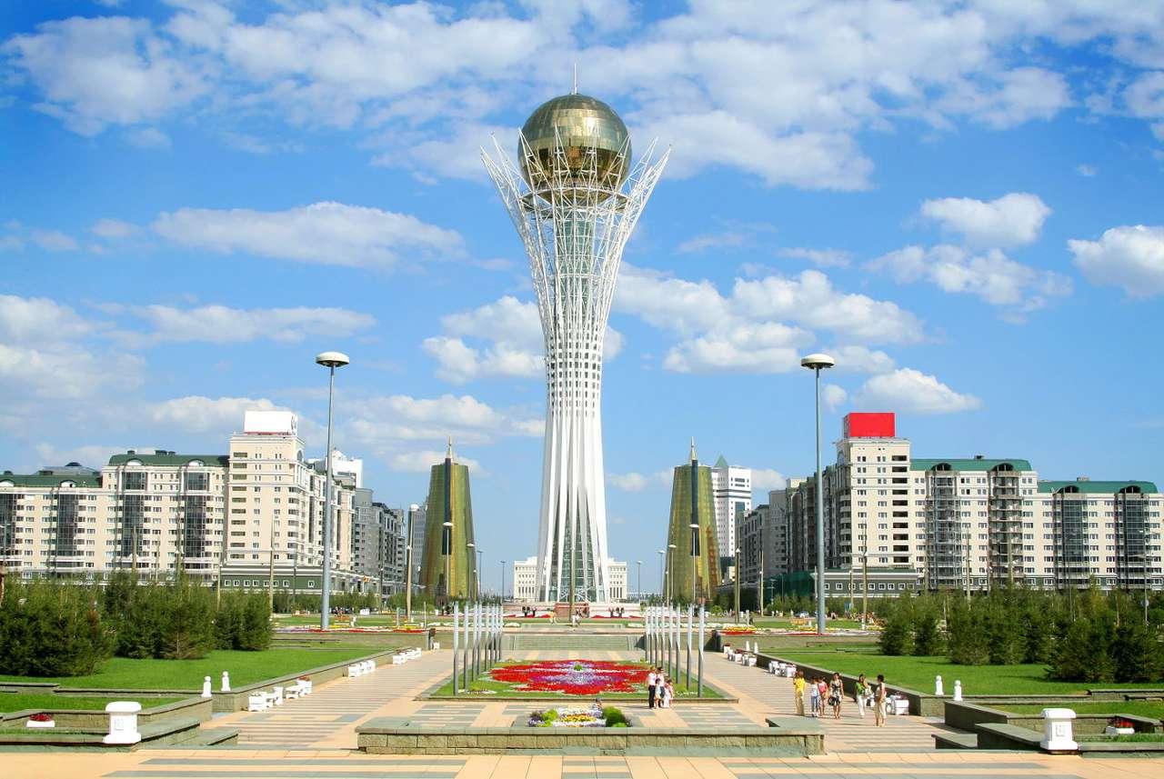 Torre Bayterek en Astana (Kazajstán)