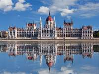 The Parliament Building in Budapest (Hungary)