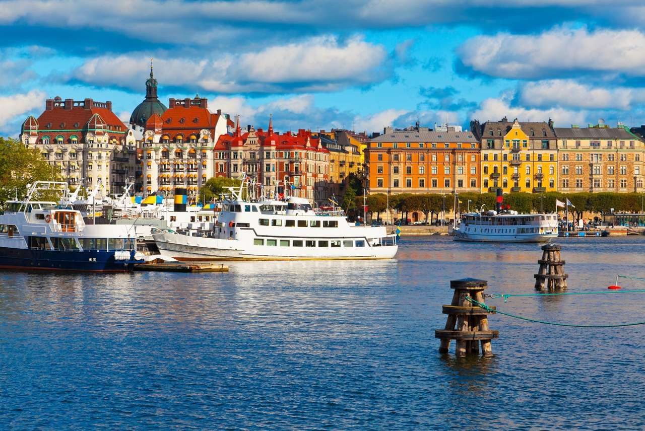 """Stockholm (Sweden) - Stockholm is the capital of Sweden and a city located on the coast of the Scandinavian Peninsula. It lies on fourteen islands spanned by fifty four bridges. Stockholm is often called the """"Venice of th (10×7)"""