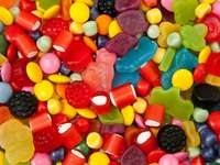 A mix of colorful sweets
