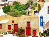 Colorful Santorini (Greece)