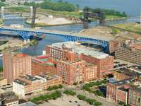 Warehouse District in Cleveland (USA)