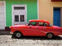 The historic car