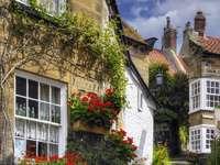 Encantadora casa en el pueblo de Robin Hood's Bay (Reino Unido)