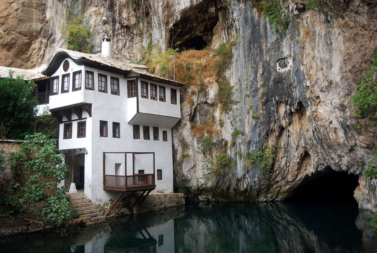 Monastery of Dervishes in Blagaj (Bosnia and Herzegovina)