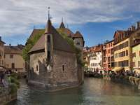 The historic prison in Annecy (France)