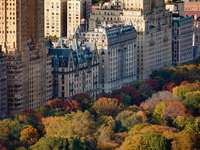 Autumn Central Park in New York (USA)