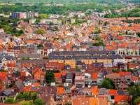 Panorama of Mechelen (Belgium)