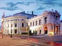 Burgtheater de Viena (Austria)