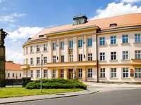 Town Hall in Nové Město nad Metují (Czech Republic)