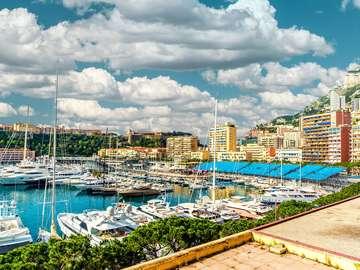 Yacht port (Monaco)