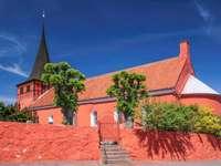 Biserica Roșie Svaneke Kirke (Danemarca)