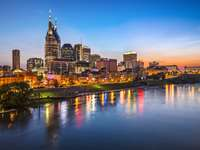 Panorama of Nashville (USA)