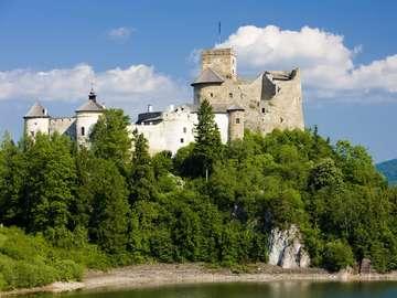 Dunajec Castle in Niedzica (Poland)