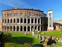 Theatre of Marcellus in Rome (Italy)